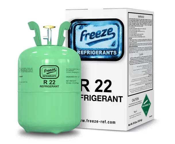 How many types of refrigerant gases